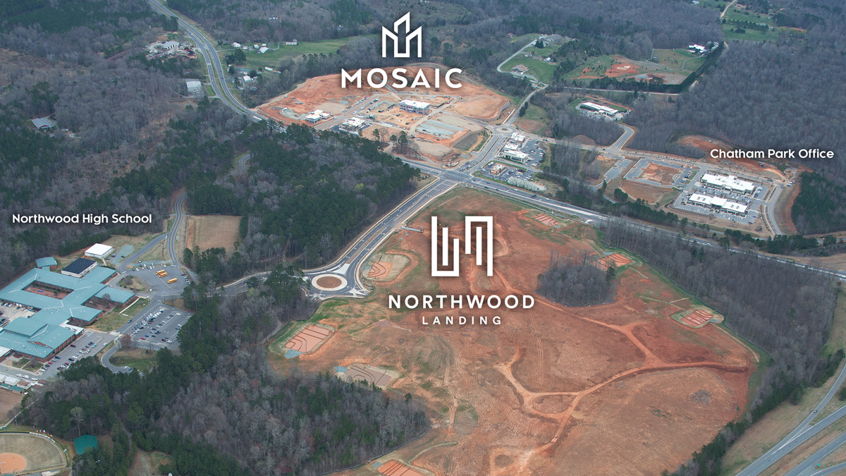 MOSAIC at Chatham Park partners with Lee & Associates for leasing